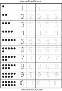 photo relating to Printable Tracing Numbers titled Tracing Selection Tracing / Cost-free Printable Worksheets
