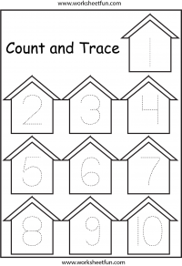 graphic about Free Printable Tracing Numbers known as Tracing Quantity Tracing / Absolutely free Printable Worksheets