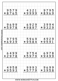 math worksheet : addition regrouping  free printable worksheets  worksheetfun : Free Printable Addition Worksheet