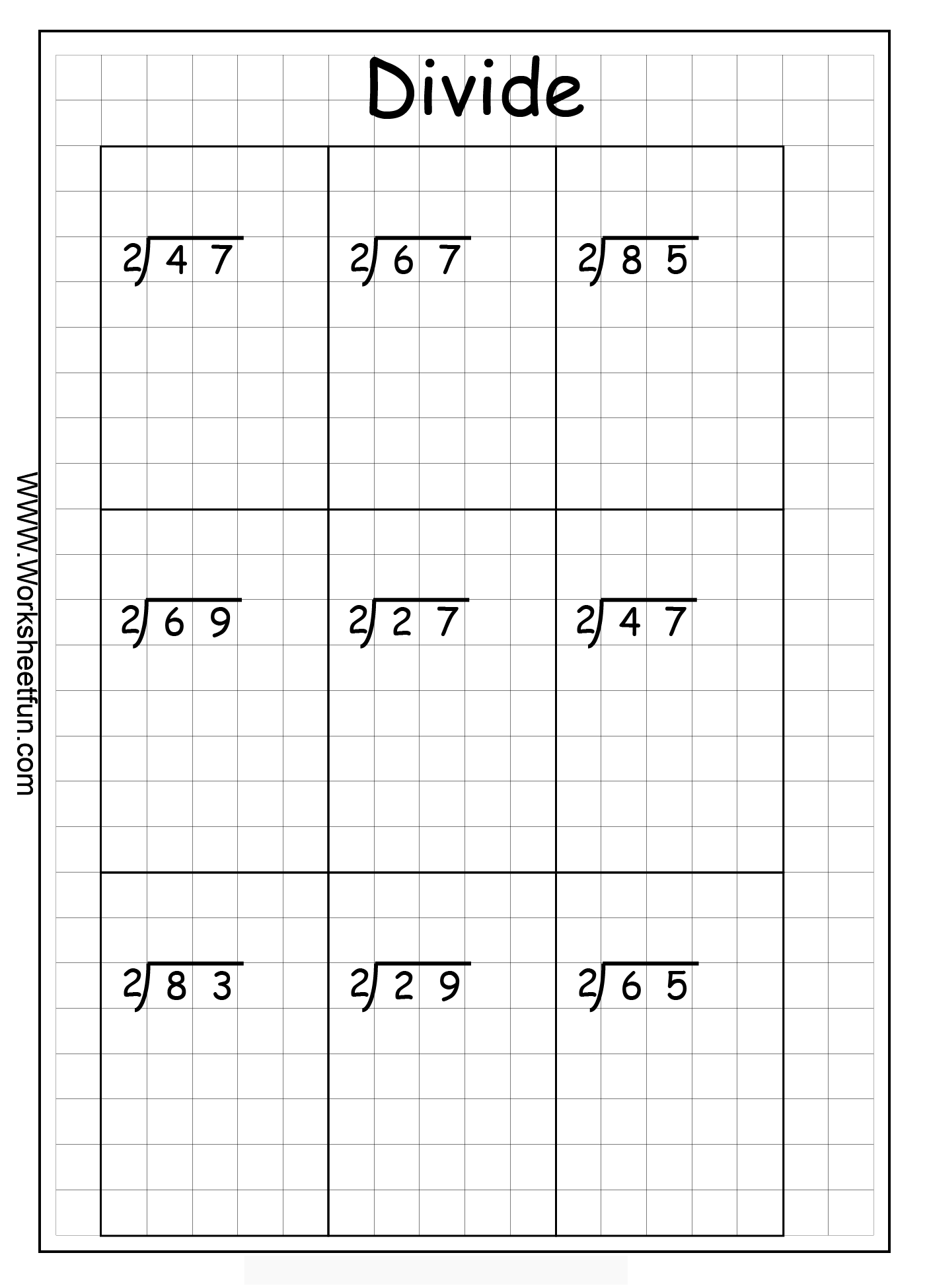 worksheet Division Without Remainders Worksheet dividing by 1 digit divisor lessons tes teach long division 2 digits with remainders 8