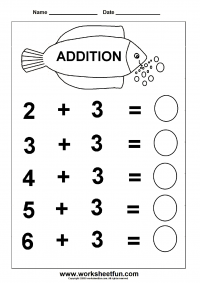... Addition Worksheets / FREE Printable Worksheets – Worksheetfun