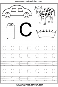 math worksheet : letter tracing worksheets for kindergarten  capital letters  : Kindergarten Alphabet Tracing Worksheets