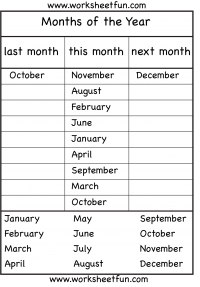 graphic regarding Months of the Year Printable identify Spelling Weeks of the Yr / Free of charge Printable Worksheets