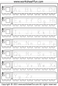math worksheet : tracing  letter tracing  free printable worksheets  worksheetfun : Abc Kindergarten Worksheets