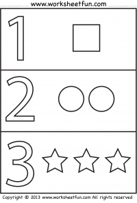Worksheets Number Worksheets For Pre-k preschool worksheets free printable worksheetfun number coloring worksheet shapes worksheet