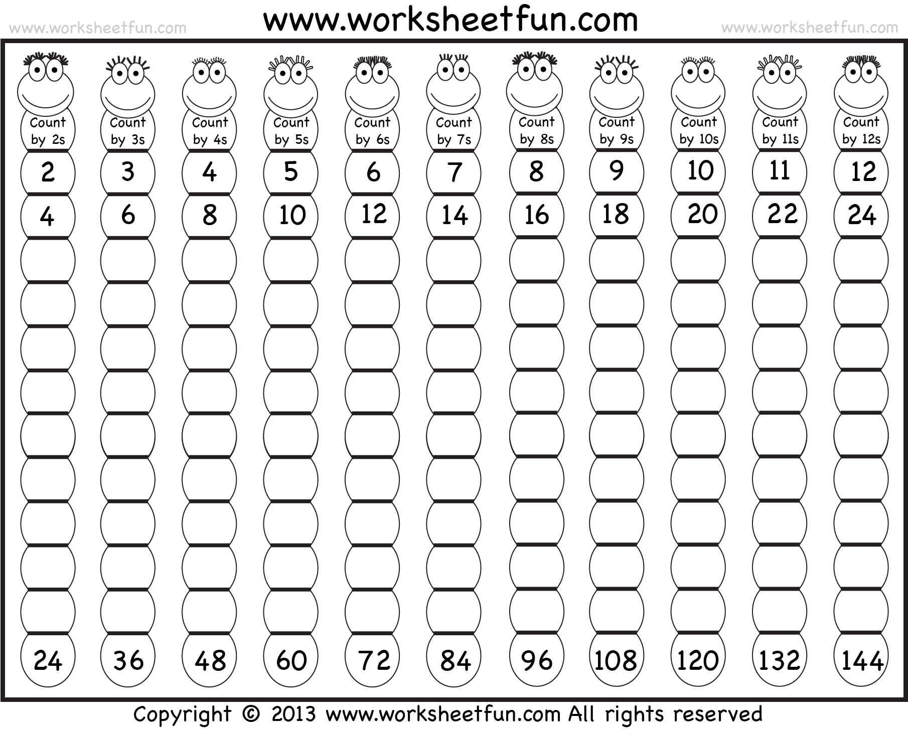 Worksheets Times Table Worksheets 1-12 times table 2 12 worksheets 1 3 4 5 6 7 8 9 10 11 worksheet here skip counting