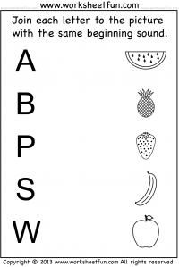 Bunch Ideas of Initial Sound Worksheets For Letter Template ...