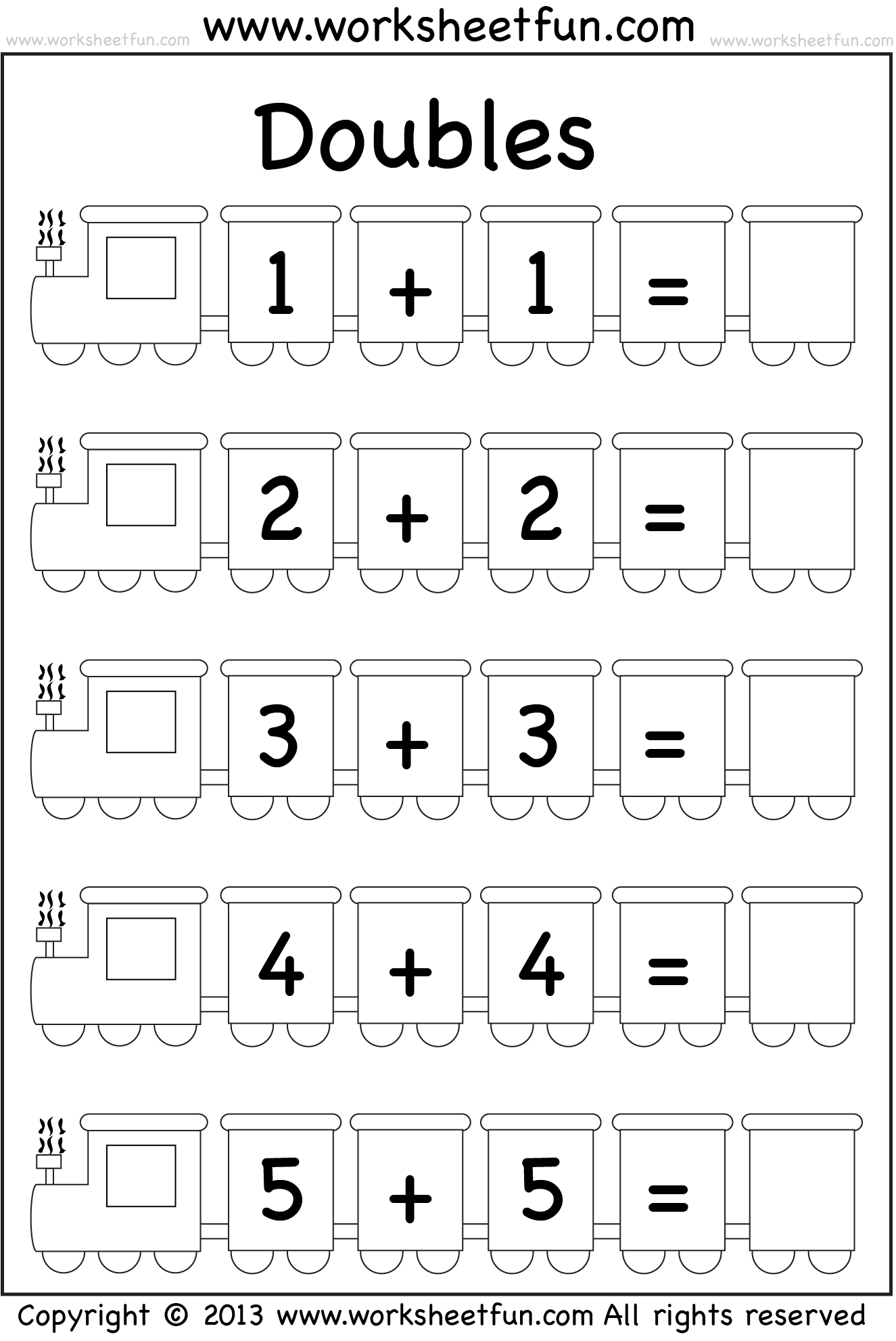 Double Fact Worksheets Free submited images.