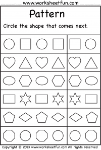 Nursery Worksheets Pdf