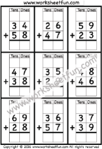 Math Worksheets on Graph Paper / FREE Printable Worksheets ...