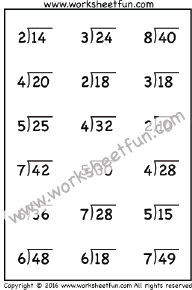 math worksheet : division  free printable worksheets  worksheetfun : Beginner Division Worksheets